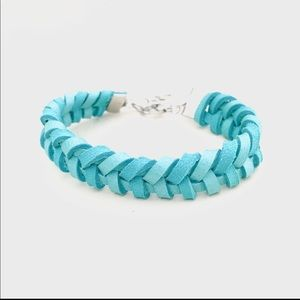 Leather Fishtail Pattern Bracelet